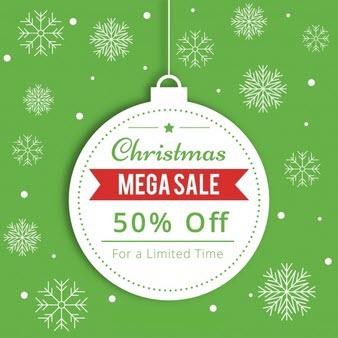 🎄 Offer Ends: Merry Christmas Sale: up to 50% OFF from WebMatics 🎄